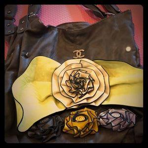 Handbags - Floral summer bag